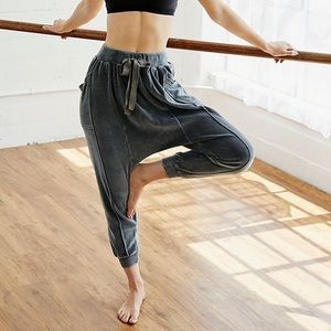 NEW Free People In The Slick Of It Harem Pants